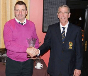 Fred Daly Pairs Runner Up 2012 - Raymond Murphy and Eugene McCooey