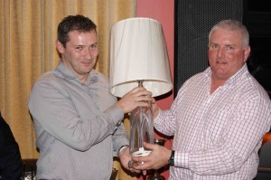 Fred Daly Singles Winner 2012 - Malachy O'Rourke
