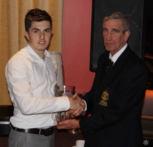 Player of the Year 2012 - Sean McLoughlin